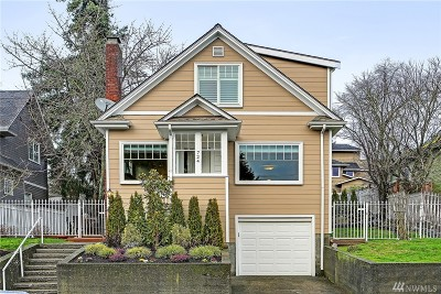 Seattle Single Family Home For Sale: 724 N 70th St