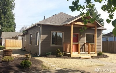 Marysville Single Family Home For Sale: 1609 5th St