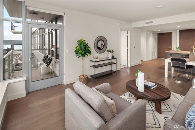 Seattle Condo/Townhouse For Sale: 588 Bell St #1705