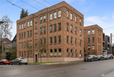 Seattle Condo/Townhouse For Sale: 1427 3rd Ave W #16