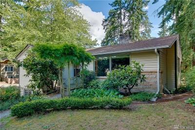 Shoreline Single Family Home For Sale: 1857 N 185th St