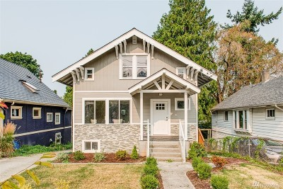 Seattle Single Family Home For Sale: 941 29th Ave