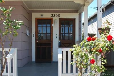 Everett Multi Family Home For Sale: 3308 Colby Ave