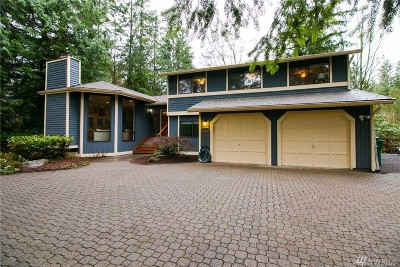 Woodinville Single Family Home For Sale: 16215 171st Place NE