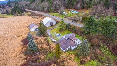 Bellingham Single Family Home For Sale: 1180 Old Hwy 99 N Rd