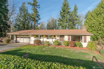 Renton Single Family Home For Sale: 13604 SE 180th St