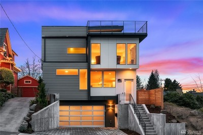 Seattle Single Family Home For Sale: 4427 30th Ave W