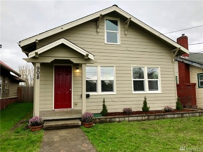 Centralia Single Family Home For Sale: 908 S Tower Ave S
