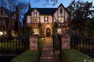 Seattle Single Family Home For Sale: 2425 E Lake Washington Blvd