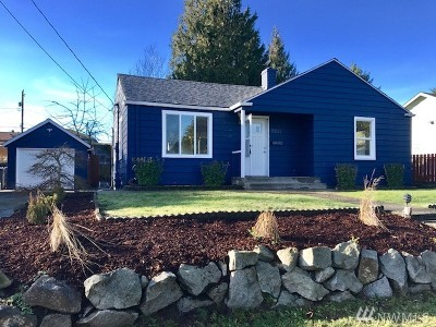 Seattle Single Family Home For Sale: 7551 S 120th St