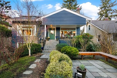 Seattle Single Family Home For Sale: 1018 NE 90th St
