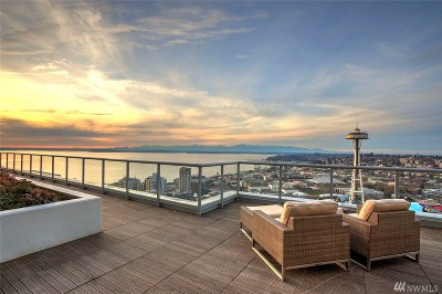 Seattle Condo/Townhouse For Sale: 588 Bell St #2203S