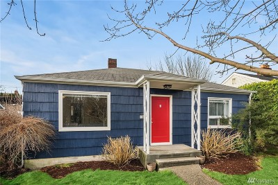 Seattle Single Family Home For Sale: 8633 35th Ave SW