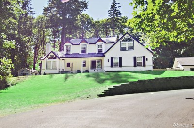 Gig Harbor Single Family Home For Sale: 14444 Crescent Valley Rd SE