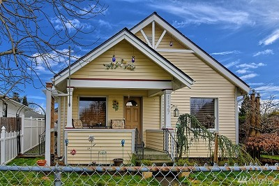 Marysville Single Family Home For Sale: 1127 5th St