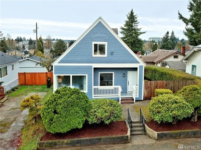 Single Family Home For Sale: 4608 S M St