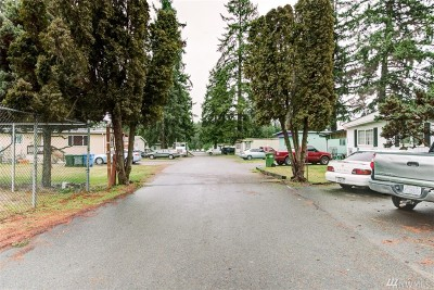 Spanaway Multi Family Home For Sale: 21711 Mountain Hwy E