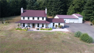 Montesano Single Family Home For Sale: 353 Wynoochee Valley Rd