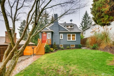 Seattle Single Family Home For Sale: 1543 NE 89th St