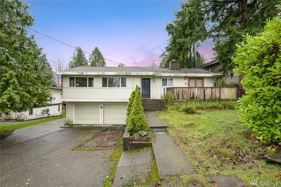 Bellevue Single Family Home For Sale: 10211 NE 24th St