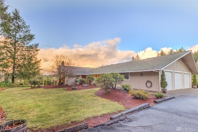 Olympia Single Family Home For Sale: 6132 Old Olympic Hwy SW