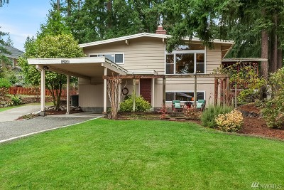 Bellevue Single Family Home For Sale: 3923 153rd Ave SE