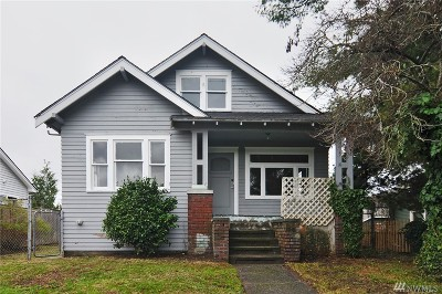 Seattle Single Family Home For Sale: 5933 41st Ave SW