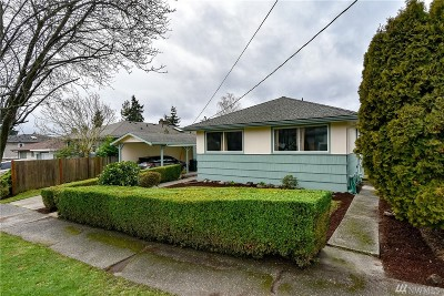 Seattle Single Family Home For Sale: 8811 2nd Ave NE