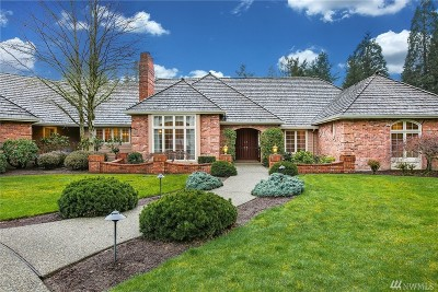 Woodinville Single Family Home For Sale: 19011 NE 151st St