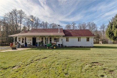 Sedro Woolley Single Family Home For Sale: 3098 Butler Creek Rd