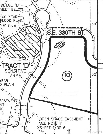 Auburn Residential Lots & Land For Sale: 33200 SE 204th Place SE