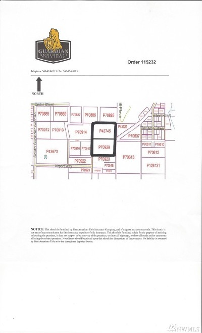 Skagit County Residential Lots & Land For Sale: Ronald Ave
