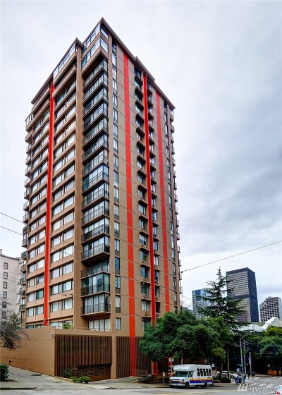 Seattle Condo/Townhouse For Sale: 1120 8th Ave #1702
