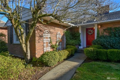 Seattle Single Family Home For Sale: 3002 39th Ave W