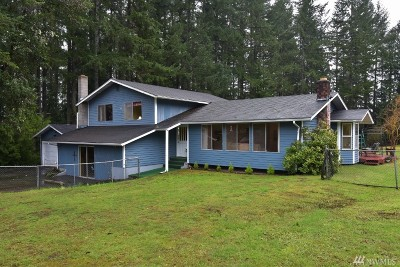 Port Orchard Single Family Home For Sale: 12381 Glenwood Rd SW