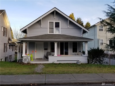Everett Single Family Home For Sale: 3509 Wetmore Ave