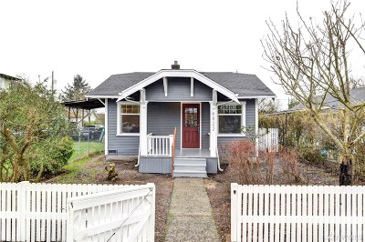 Tacoma Single Family Home For Sale: 6822 S Lawrence St