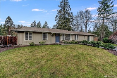 Redmond Single Family Home For Sale: 21430 NE 60th Place