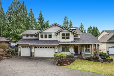 Woodinville Single Family Home For Sale: 21310 73rd Dr SE