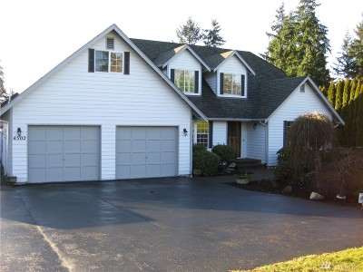 Pierce County Single Family Home For Sale: 4502 114th Ave E