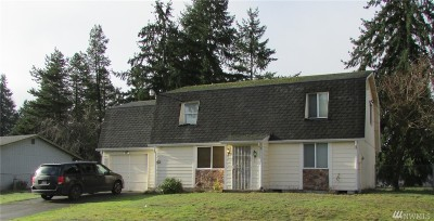 Olympia Single Family Home For Sale: 629 Hawks Glen Dr SW