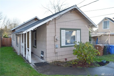 Tacoma Single Family Home For Sale: 1412 S 52nd St