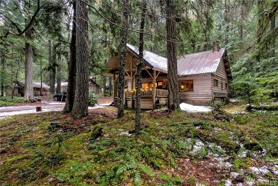 Greenwater Single Family Home For Sale: 118 Silver Creek Usfs Mt Baker-Sno