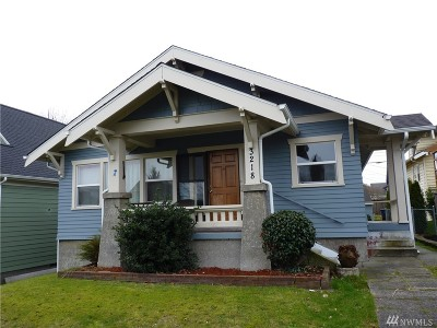 Tacoma Single Family Home For Sale: 3218 6th Ave