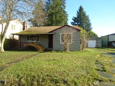 Tacoma Single Family Home For Sale: 8635 S D St