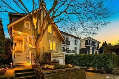 Single Family Home For Sale: 1509 McGilvra Blvd E