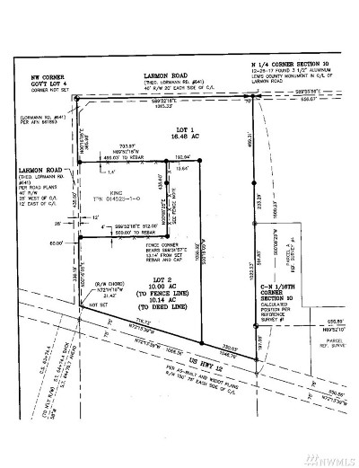 Residential Lots & Land For Sale: Larmon Rd