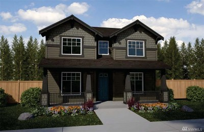 Bonney Lake Single Family Home For Sale: 13125 183rd (Lot 47) Ave E