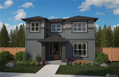 Bonney Lake Single Family Home For Sale: 13116 183rd (Lot 55) Ave E