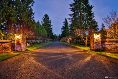 Woodinville Single Family Home For Sale: 21720 NE 144th Place